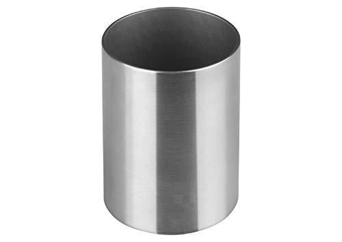 Winco DDSG-103S 2'' Round Stainless Steel Sugar Packet Holder Cafe Tabletop Metal Straws Holder ()