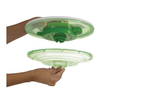 ZYLISS Smart Touch Salad Spinner, Green by Zyliss (Image #3)
