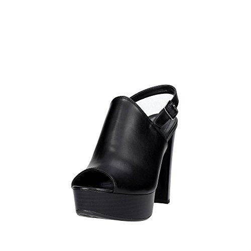 Pregunta SP507 Sandale Femme Noir aiesj4XEh