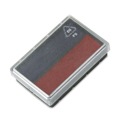replacement-ink-pad-for-2000-plus-micro-dater-blue-red-cos062072-category-stamp-pads-and-ink-refills