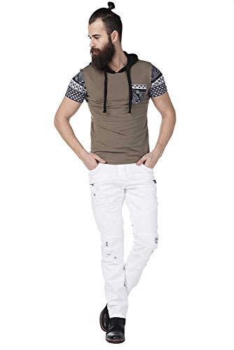 Destroy Blanc Jean amp; Effet Cipo Baxx Homme ASOq6wp