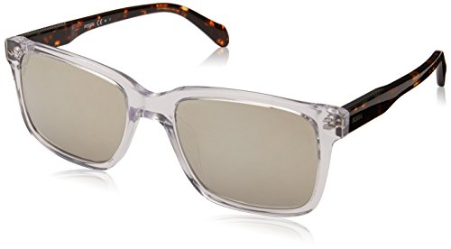Fossil Men's Fos 2076/s Square Sunglasses, Crystal, 54 mm -  Fossil Eyewear, 716736047669