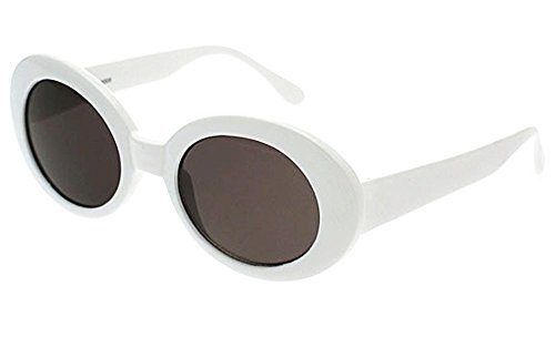 4bad7ad346 BOLD Retro Oval MOD Thick Frame Clout Goggles Round Lens Sunglasses. Click  image for Gallery