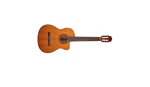 Salvador Cortez cc-10ce Guitarra Clásica electrificada: Amazon.es ...