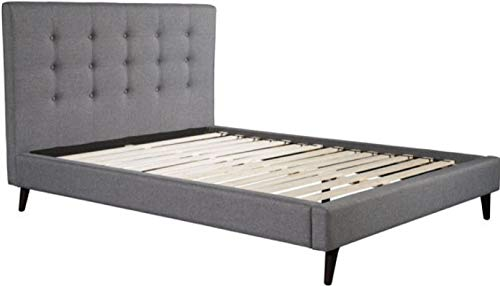 Zuo Modern 100568 Modernity Queen Bed, Gray