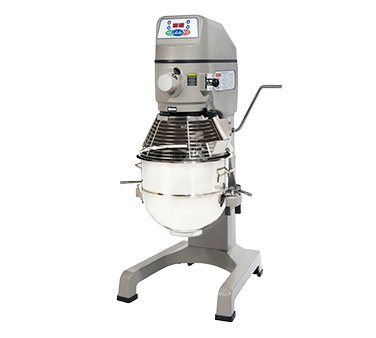 - Globe Stainless Steel Bowl Electric Floor Model 30 Quart Planetary Mixer
