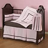 Chocolate Berry Comforts Crib Bedding Set