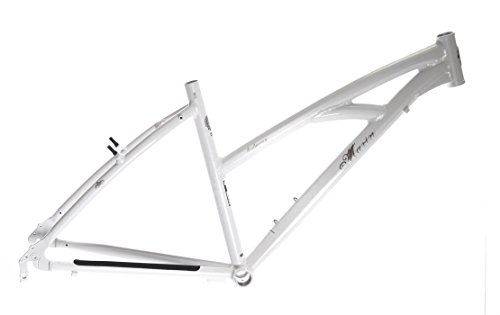 "15"" MARIN BRIDGEWAY Women's Hybrid City 700c Bike Frame White Alloy NOS NEW"