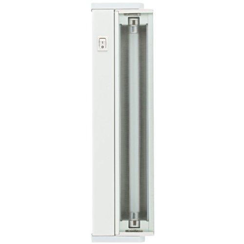 Globe Electric 25766 14-Inch Under Cabinet 8-Watt Fluorescent Swivel Light Fixture with 4-Foot Power (300w Hardwire Transformer)