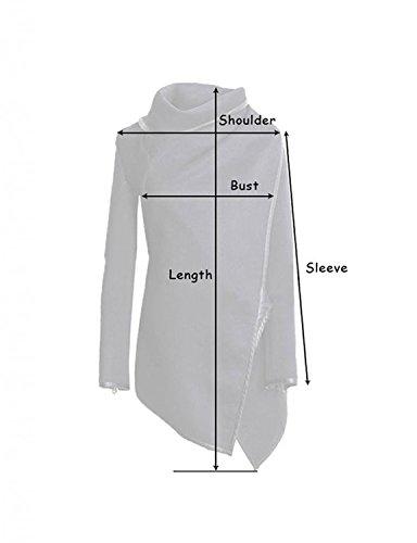 Coat Originales De Rompevientos Cremallera Mujer con Marca Cuello xqwvRIEw
