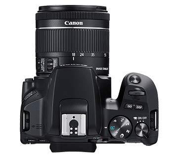 Canon EOS 200D II 24.1MP Digital SLR Camera + EF-S 18-55mm is STM Lens + EF-S 55-250mm is STM Lens (Black) 4