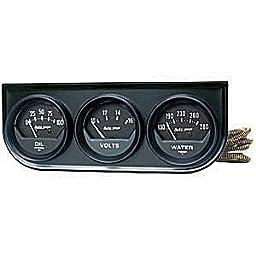 Auto Meter 2348 2IN BLACK MECH.GAUGE PNL