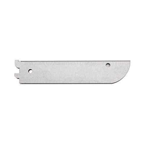Sterling Fast Mount - John Sterling FAST-MOUNT Double Slot Shelf Bracket, 10-inch, Galvanized, BK-0102