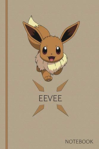 Eevee: Anime Comics Notebooks, 6 x 0.3 x 9 Inches, Squared paper, Cosplay, Eevee, Pokemon]()