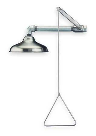 Guardian G1643SSH Stainless Steel Emergency Shower, Horizontally Mounted