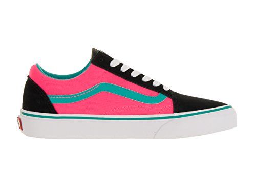 Vans UA Old Skool, Sneakers Basses Homme (brite) black/neon pink