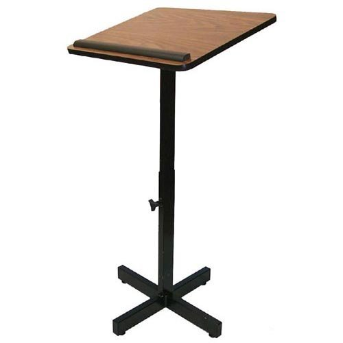 Amplivox W330 - Xpediter Adjustable Lectern Stand W330-MH by Amplivox