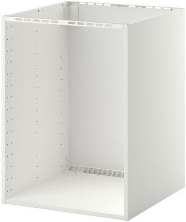 Ikea Metod Meuble Bas Pour Four Integre Lavabo Blanc Amazon Fr