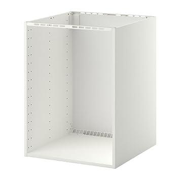 IKEA Metod - Unterschrank für Einbauherd / Waschbecken, weiß: Amazon ...