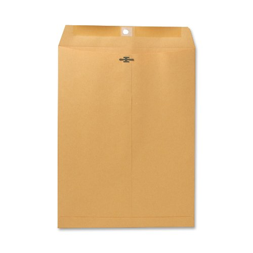 Sparco Clasp Envelope, 28 lbs, 9 1/2 x 12 1/2 Inches, 100 per Box, Kraft (SPR08893)