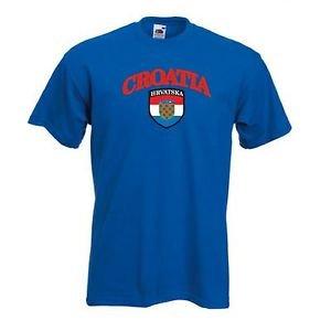 Camiseta Hombre Croacia Hrvatska Equipo Nacional F?tbol - Todas Las Tallas