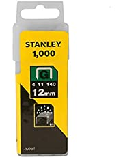 Stanley Heavy Duty Staples, 12 mm, Type G, Set of 1000-1-TRA708T