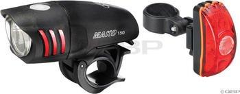 NiteRider Mako 150 Headlight and CherryBomb Taillight Combo - Niterider Mako 100 Headlight