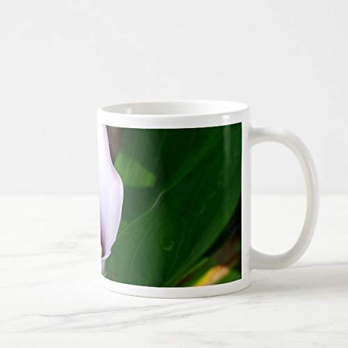Funny Withe and Purple Calla Lily Coffee Mug 11oz Funny Gift Mug ()