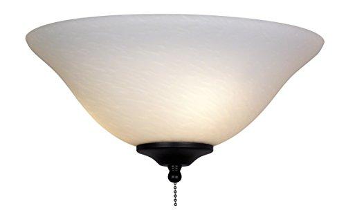 Swirl Ceiling Fan Glass Bowl (Fanimation G458 13