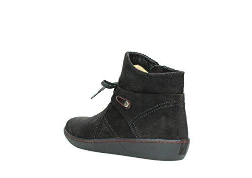 Boots Wolky 40211 Scamosciata Comodità Antracite Pharos Caviglia rwqrCZ