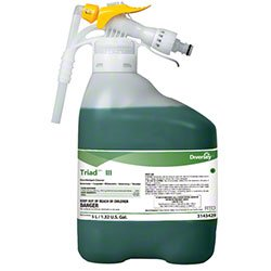 Triad Controls (Diversey 3143429 Disinfectant Cleaner, Healthcare Diversey Triad Disinfectant Cleaner, Attacks Dangerous Invisible Pathogens)