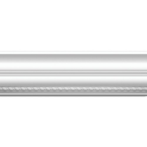 Focal Point 23620 Rope Crown Moulding 5 7/8-Inch by 8 Foot, Primed White, 6-Pack by Focal Point