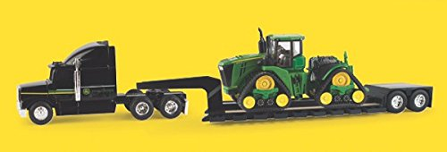 None 1/64 John Deere 9570RX Scraper Special with Semi and LP64452 by None