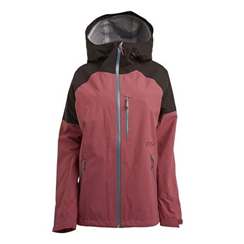 (Flylow Women's Vixen 2.1 Jacket Black/Mulberry Large)