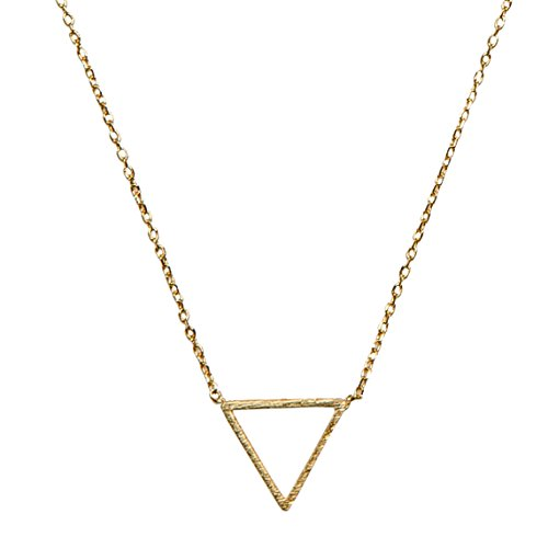 (SPUNKYsoul Triangle Necklace Collection (Small)