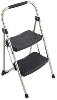 Gorilla Ladders 2-Step Compact Steel Step Stool 225 lbs. Capacity