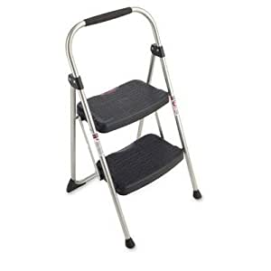 Werner 2 Step Steel Folding Step Ladder 225 Lb Cap