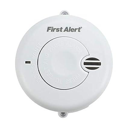 First Alert SA700LUK - Detector de humo (funciona a pilas) [Importado de Reino