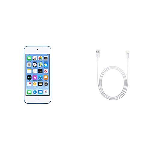 Apple iPod Touch, 32GB - Blue (6th Gen) (Renewed)
