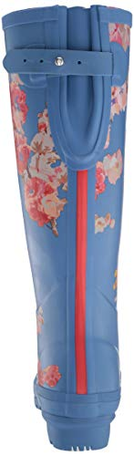 Print De Botas Azul Agua Bluflrl Mujer Welly blue Joules Floral Para f5qPtn