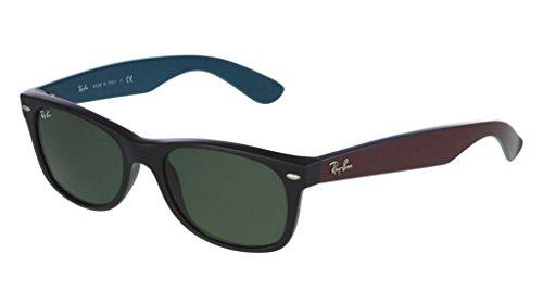 Ray Ban RB2132 6182 52 Matte Black New Wayfarer Sunglasses Bundle-2 - Ban Wayfarer Ray Ii