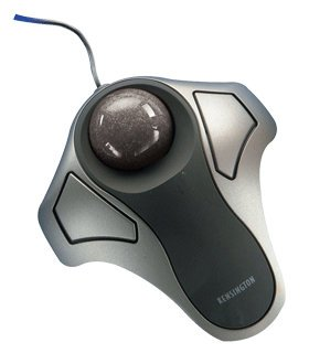 Kensington Orbit 2-Button Optical Trackball Metallic Black Compact Design Usb & Ps2 Connectivity (2 Buttons Optical Trackball Orbit)