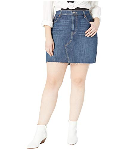 (Levi's Women's Plus-Size Deconstructed Skirts, Middle Avenue, 38 (US 18))