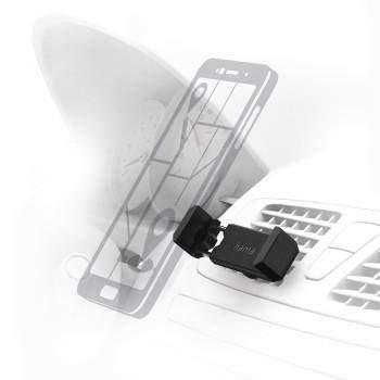 Mobile Phone//Smartphone, Car Passive Holder Mount Clamp, Black, Plastic, Mounting Hama 00178257/Car Mount/ /