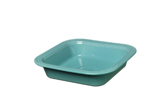 Fiesta 962-107 Square Baking Dish, 9-Inch by 9-Inch, Turquoise (Dishes Square Fiesta)