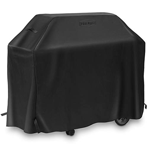 Pure Grill 72-Inch BBQ Grill Cover – Universal Fit for All Barbecue Gas Grill Brands – Heavy-Duty, Waterproof, Fade Resistant Fabric