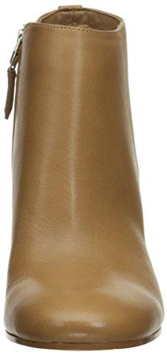 Sam Edelman Women's Cambell Ankle Boots, Black, 8 UK Golden Caramel Leather