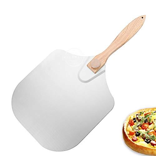 Amiispe Professionele pizzaspel met extra stevige handgreep van eikenhout