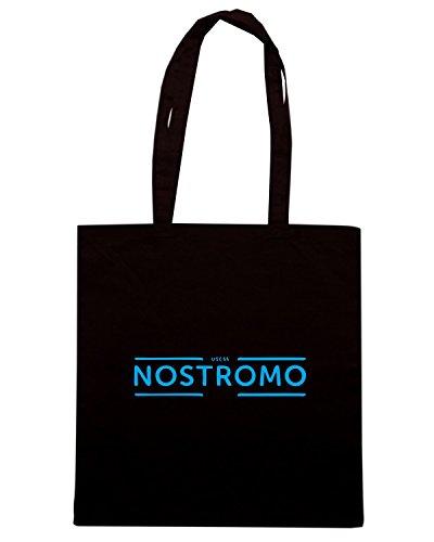 T-Shirtshock - Bolsa para la compra TF0040 inspired by nostromo Negro