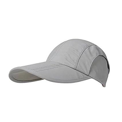 510ea28cd85e6 Vrcoco Summer Outdoor Baseball Cap Unisex Foldable Sunscreen Hat UPF50+ Sun  Protection Leisure Sun Hat Running Golf Caps Sports Sun Hats Quick Dry Cap (1pc)